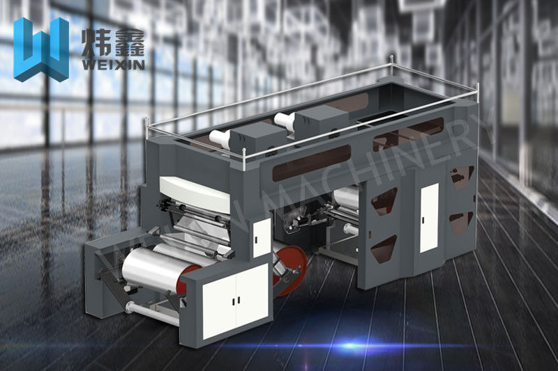 Central Impression Flexographic Printing Machine / Mini Flexo Printing Machine