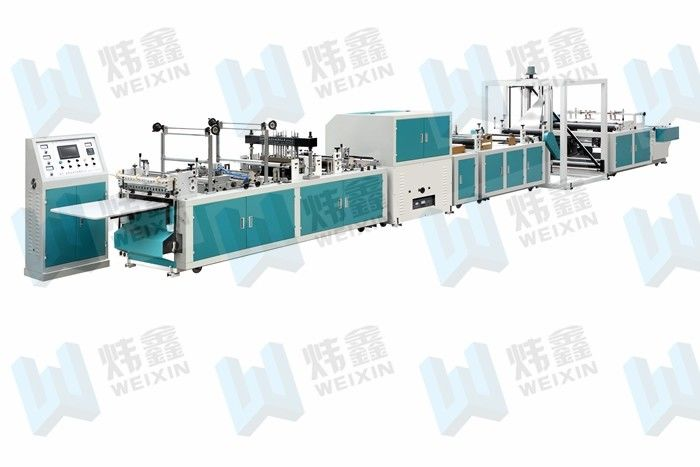 Tri - Dimensional Non Woven Bag Making Machine For Rope Bag Shopping Bag