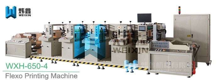 Flexographic Box Printing Machine